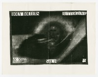 Holy Rollers and Butterglove concert flier, d.c. Space, Washington D.C., September 14,1989