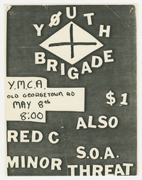 Youth Brigade, Red C, S.O.A. Minor Threat - YMCA - Bethesda, MD., May 8, 1981