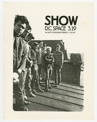 Ignition and 3 (Three) concert flier, d.c. Space, Washington, D.C., March 13, 1987