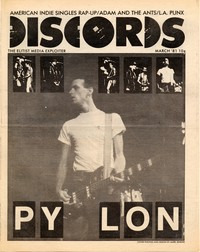 Discords fanzine, March 1981