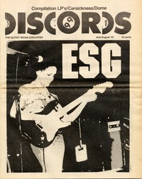 Discords fanzine, July/August 1981