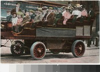 Sightseeing tour, New York, New York, 1907-1915