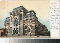 Academy of Fine Arts, Philadelphia, Pennsylvania, 1901-1907
