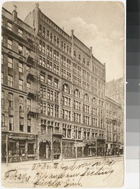 Hotel Kaiserhof, Chicago, Illinois, 1901-1905