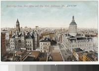 Post Office and City Hall, Baltimore, Maryland, 1907-1914