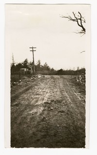 WPA project number 99, Pleasant Valley Road construction, Loch Lynn, Maryland, December 1935