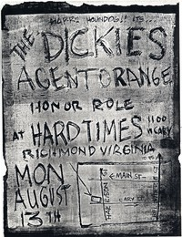 The Dickies – Richmond, VA – Hard Times, August 13, 1984