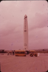 "United States Air Force ""SM 75 Thor"" rocket, 1958-1963"