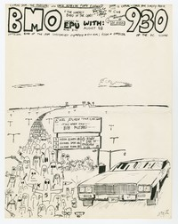Bloody Mannequin Orchestra and The Dickies concert flier, 9:30 Club, Washington, D.C., August 16, 1984