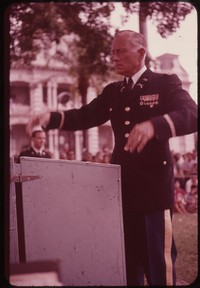 Chester E. Whiting conducting, Hawaii, undated