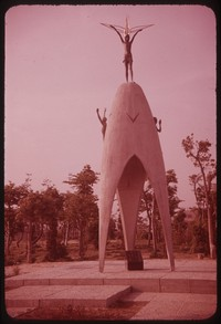 Children's Peace Monument, Hiroshima, Japan, undated