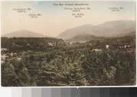 Bar Harbor Mountains, Bar Harbor, Maine, 1907-1914