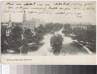 Panorama of Capitol Square, Richmond, Virginia, 1901-1906