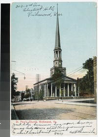 St. Paul's Church, Richmond, Virginia, 1901-1907