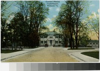 Governor's Mansion (Capitol Square), Richmond, Virginia, 1907-1914