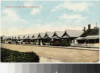 Avenue of Tents, Ocean Grove, New Jersey, 1907-1910