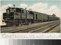 Electric locomotive on the New York Central Lines, 1901-1906