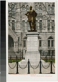 Stonewall Jackson Monument, Richmond, Virginia, 1905