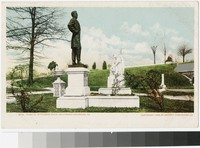 Tomb of Jefferson Davis, Hollywood Cemetery, Richmond, Virginia, 1905