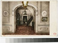 The Valentine Museum. View of the main hall from the vestibule, Richmond, Virginia, 1901-1907