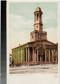 St. Paul's Church, Richmond, Virginia, 1906