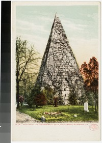 Monument to Confederate dead, Hollywood, Richmond, Virginia, 1905