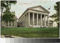 State capitol building, Richmond, Virginia, 1907-1910