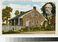 General Lee's headquarters, Gettysburg, Pennsylvania, 1915-1930