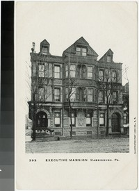 Executive Mansion, Harrisburg, Pennsylvania, 1901-1907
