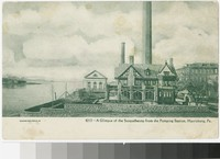 Susquehanna River from the pumping station, Harrisburg, Pennsylvania, 1901-1907