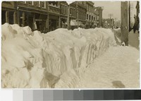 Snow in the street, Harrisburg, Pennsylvania, 1907-1914