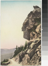 Indian Head, Fall River Road, Estes-Rocky Mountain National Park, Colorado, 1907-1914