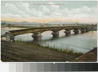 Camel Back Bridge, Harrisburg, Pennsylvania, 1907-1914