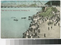 Boat race on the Susquehanna, Harrisburg, Pennsylvania, 1907-1914