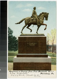 Monument of General John Fred Hartranft, Harrisburg, Pennsylvania, 1907-1914