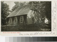 Old Stone Church, near Staunton, Virginia, 1901-1905