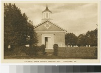 Colonial Grace Church, Yorktown, Virginia, 1915-1930