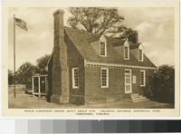 Philip Lightfoot House, Colonial National Historical Park, Yorktown, Virginia, 1915-1930
