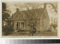 West House, Yorktown, Virginia, 1915-1930