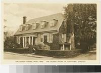 Shield House, Yorktown, Virginia, 1915-1930