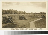French Battery, Colonial National Historical Park, Yorktown, Virginia, 1915-1930