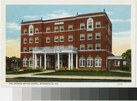 George Wythe Hotel, Wytheville, Virginia, 1915-1930