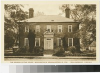 George Wythe House, Williamsburg, Virginia, 1907-1914