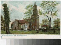 Bruton Parish Church, Williamsburg, Virginia, 1901-1907