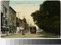 West Broad Street, Hazleton, Pennsylvania, 1907-1914