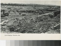 Coal stripping, Hazleton, Pennsylvania, 1907-1914