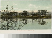 Allegheny River view near Kittanning, Pennsylvania, 1901-1907