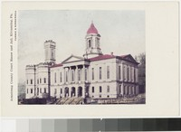 Armstrong County Court House and Jail, Kittanning, Pennsylvania, 1907-1914