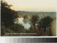 The Conestoga River, looking west from Rocky Spring, Lancaster, Pennsylvania, 1907-1914