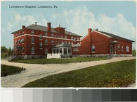 Lewistown Hospital, Lewistown, Pennsylvania, 1907-1914